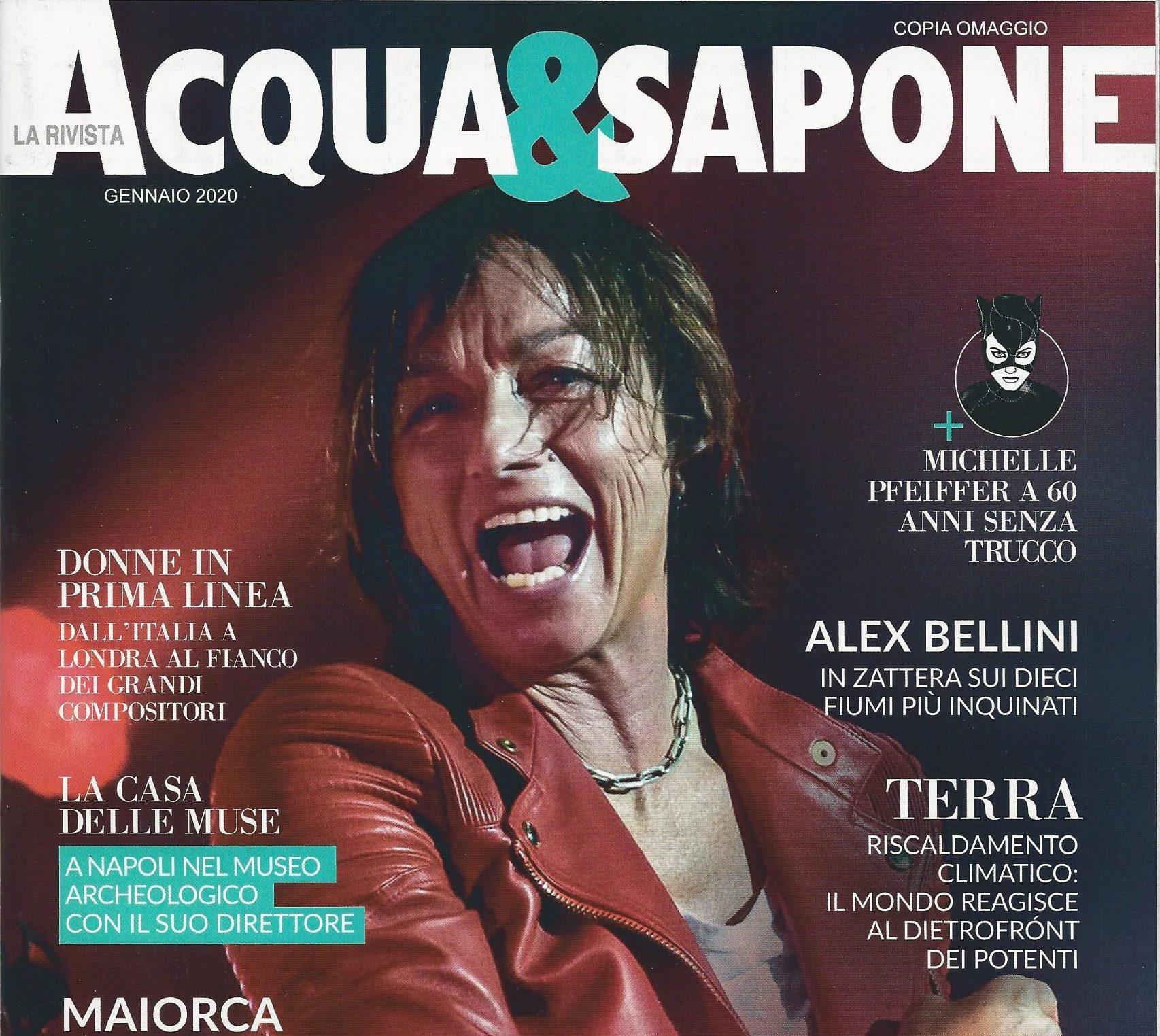 """Intervista sulla GeoPaleoDiet per la Rivista """"Acqua&Sapone"""""""